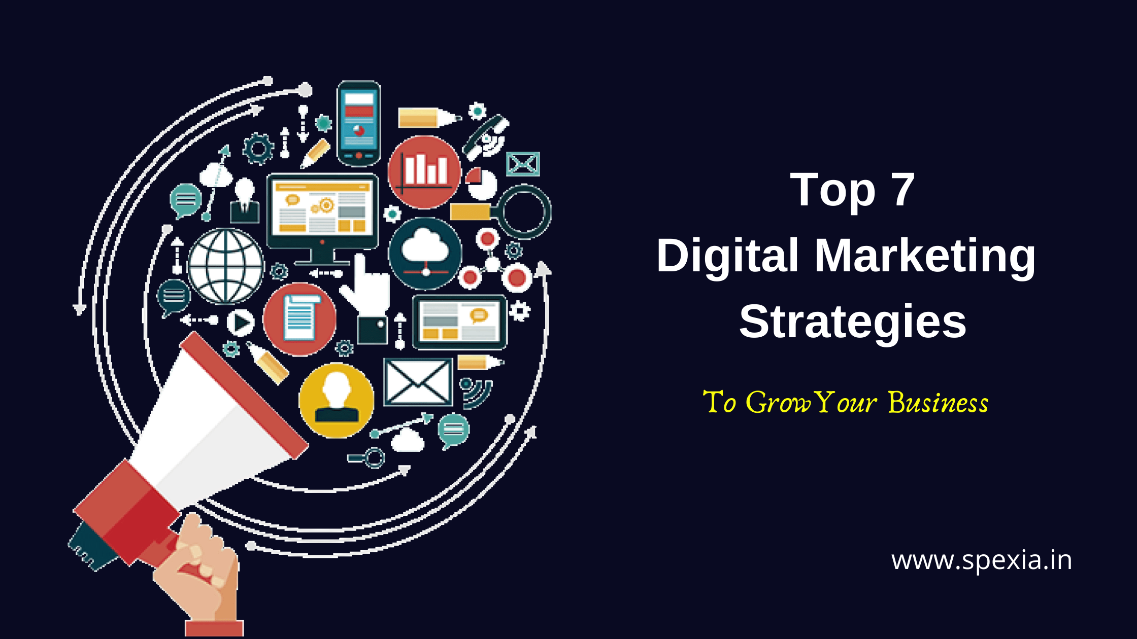 Top 7 Digital Marketing Strategies To Grow Your Business